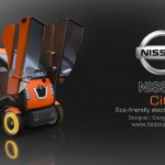 Nissan City Electric Concept Car by Giorgi Tedoradze
