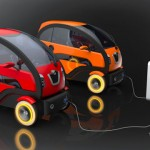 Nissan City Eco Electric Concept Car by Giorgi Tedoradze