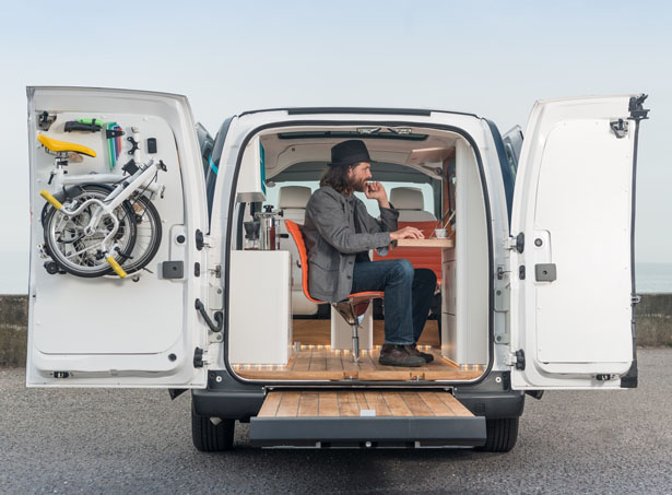 Nissan E-NV200 WORKSPACe Could Be The Future of All Electric Mobile Office