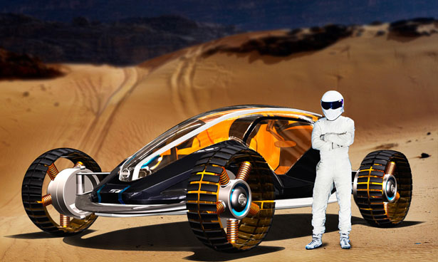 Nissan Guardian All-Terrain Vehicle Design For The Year of 2030
