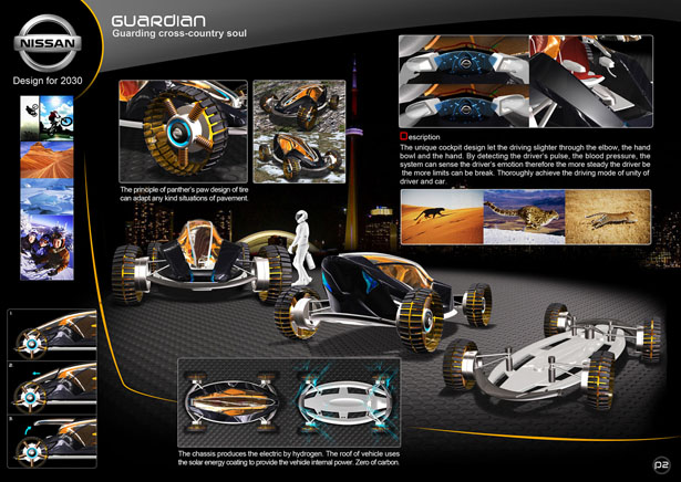 Nissan Guardian All-Terrain Vehicle by Ming-deng Tang and Bo-jyun Jhan
