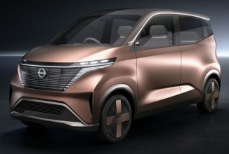 Nissan IMk All Electric Concept Car with Self-Parking Feature