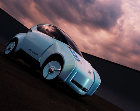 nissan land glider car concept