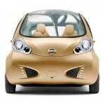 Nissan Nuvu City Car Concept with Futuristic Dashboard