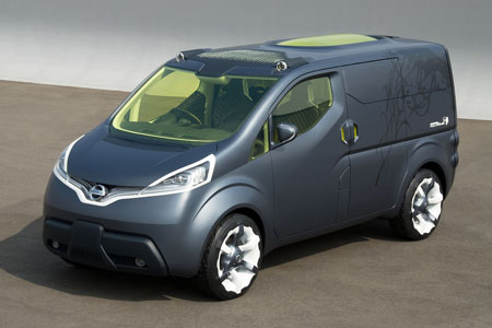 In Nissan NV200, Function Becomes The Aesthetic