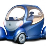 Nissan Pivo 2: 360-Degree Swiveler Electric Nissan Concept
