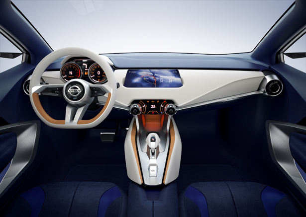 Nissan Sway Compact Hatchback Concept Car