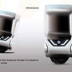 Nissan Tama-Go : Futuristic Single-Person Vehicle Concept for Tokyo in 2040