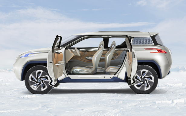 Nissan TeRRA SUV Concept Takes Sustainability Off-Road
