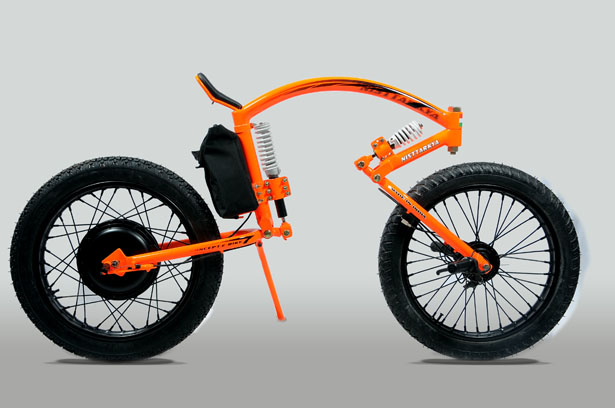 Nisttarkya Electric Concept Bike by Santosh