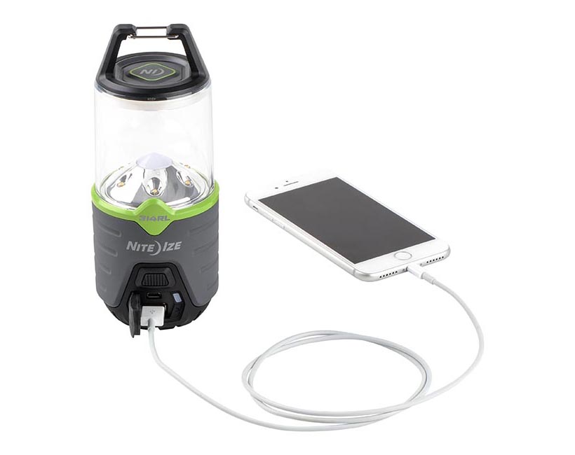 Niteize Radiant Rechargeable Lantern Comes with Built-In Power Bank
