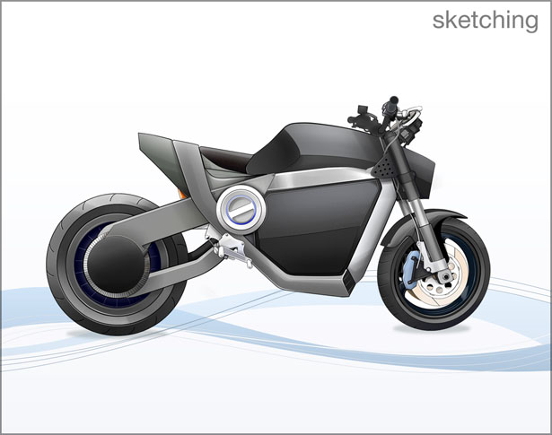 Nirvash Electric Motorbike by Olegs Zabelins and Pavels Sevcenko