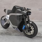 Nivach Electric Motorbike Was Inspired by Street Fighters and American Muscle Cars of The 60s