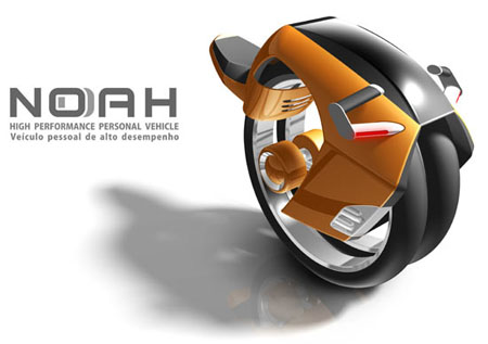 noah high performance personal vehicle