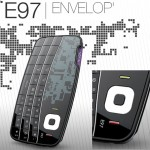 Stylish Nokia E97 Envelope Concept Cell Phone