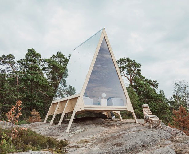 Nolla Cabin: Living with Minimal Carbon Footprint by Robin Falck
