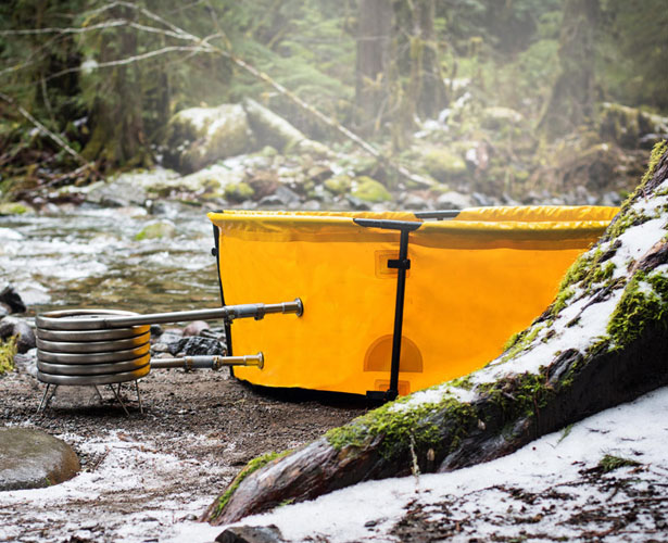 Nomad Collapsible Tub and Frame