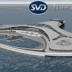 Nomadia Project : A Giant Ship or Floating Island by Sylvain VIAU