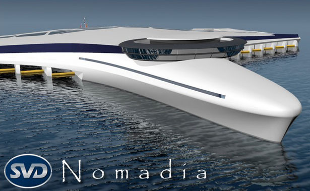 Nomadia Project by Sylvain VIAU