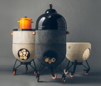 Noori Multipurpose Rocket Stove – Barbecue, Pizza Oven or A Fire Pit in One