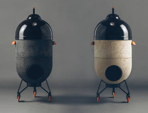 Noori Multipurpose Rocket Stove - Barbecue, Pizza Oven or A Fire Pit in One