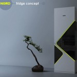 Modern Nord Fridge Design by Olga Kalugina