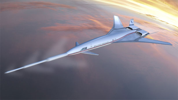 Supersonic Passenger Cruise Flight With Reduced Noise Through Exceptionally Long Nose