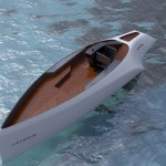 Novague Yacht Features Huge Solar Panel Wings