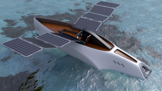 Novague Yacht Features Huge Solar Panel Wings Tuvie