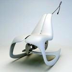 Novague Rocking Chair Generates Energy to Light a LED Lamp