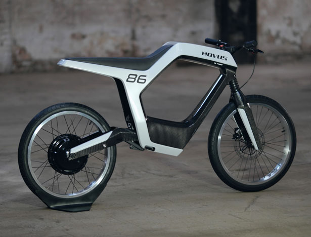 Novus Minimalist Modern Electric Motorcycle