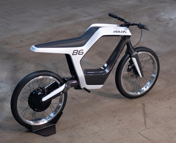 Novus Minimalist Electric Motorcycle