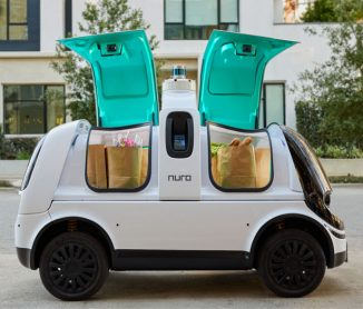 Nuro R2 – Second Generation of Self-Driving Delivery Vehicle with Better Lifespan, Cargo Space, and Battery Life