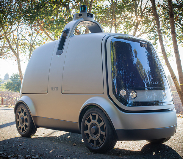 Nuro Self-Driving Vehicle for Local Goods Transportation