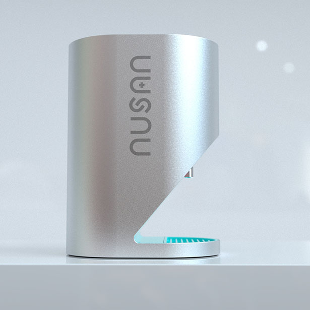 NUSAN Automatic Hand Sanitizer Dispenser by Bluemap Design
