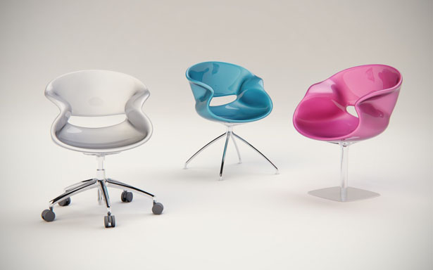 Nuvist Eidos Chair - Fluid and Continuous Form