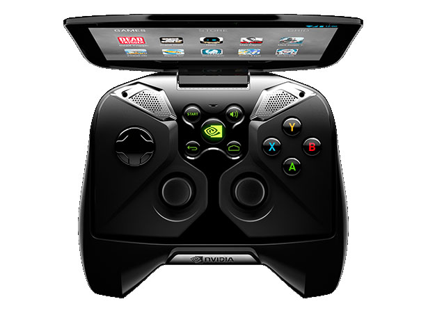 Nvidia Project Shield Portable Game Concept