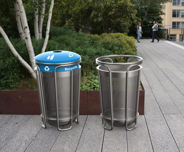 BetterBin Litter Basket Design Competition Wants to Redesign The Iconic New York City Litter Basket - NYC Streets Litter Basket by Smart Design