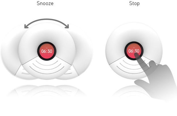 O Alarm iPhone5 Speaker Docking Station by Sehee Lim