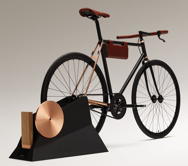 O Plus Minus O : Electrically Power Assisted Bicycle by Jose Gonzalez (Design Laboratory, Yamaha Corporation)