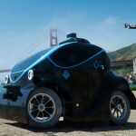 Futuristic O-R3 Ground Aerial Outdoor Security Robot Might Replace Patrol Officer Job
