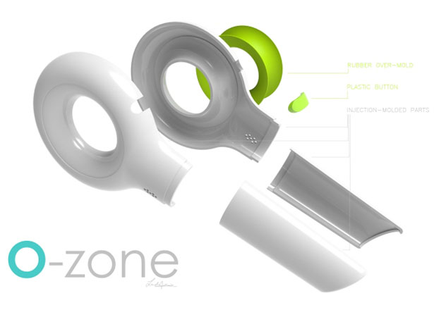 O-Zone Handheld Vacuum Cleaner