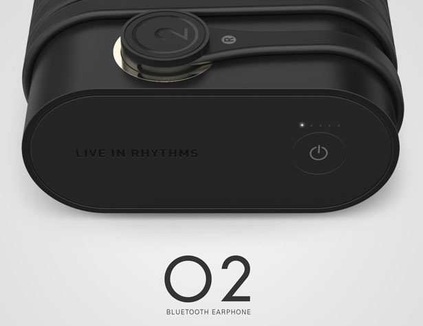 O2 Bluetooth Earphones by Shane Li