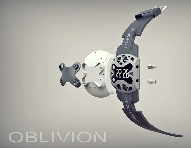 Oblivion Inspired Watch Concept by Dmitry Lazarev