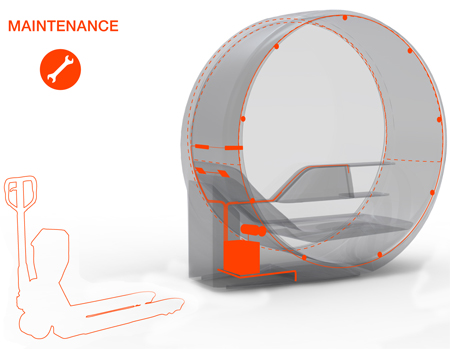 obsideon airport sleeping concept2