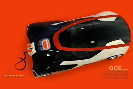 OCE (One Common Energy) Electric Car Concept