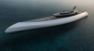 """Oceanco Tuhura Superyacht Shortlisted for """"Concept Over 40 Metres Award"""" in The International Yacht & Aviation Awards 2018"""