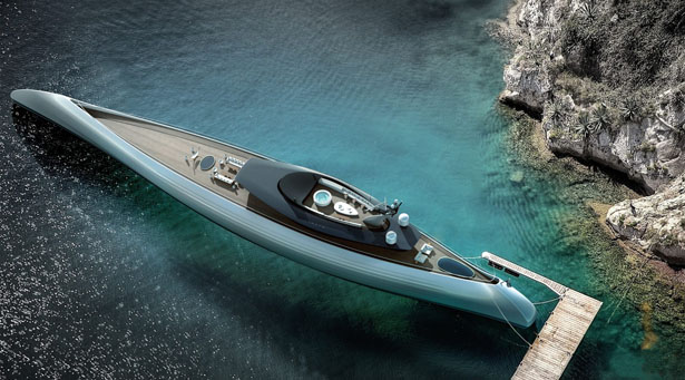 Oceanco Tuhura Superyacht Shortlisted for 'Concept Over 40 Metres Award' in The International Yacht & Aviation Awards 2018