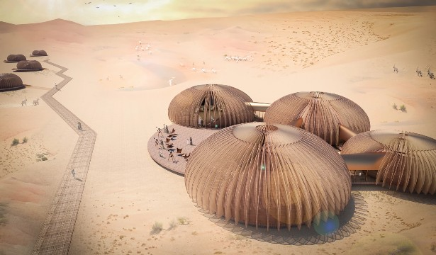 Oculus Inhabitable Pod for The Desert by Aidia Studio