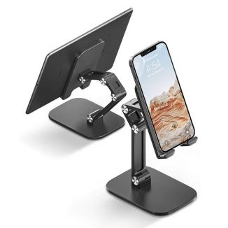 Stylish OETNE Adjustable Cell Phone Stand with Adjustable Angle and Height